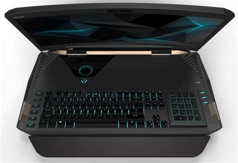 Laptop Acer Predator 21x acer predator 21x gaming notebook curved 21 inch display