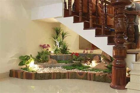 unique ideas  indoor garden  stairs balcony