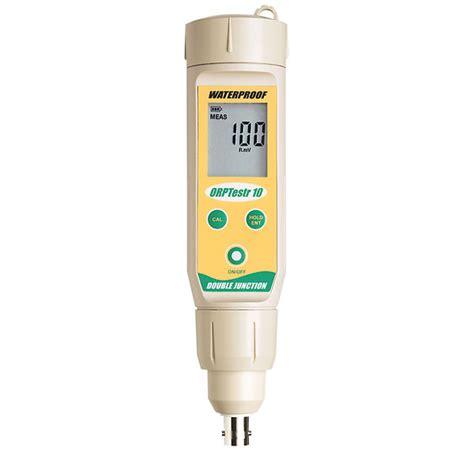 Eutech Phtestr 10 Bnc Waterproof Ph Tester Bnc Ph Meter oakton waterproof orp testr 10 bnc pocket orp tester from cole parmer