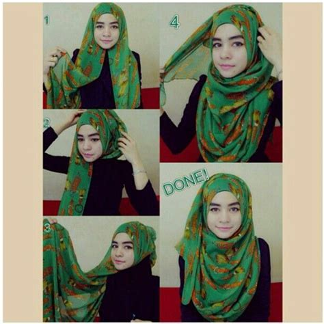 tutorial hairstyle instagram instagram photo by hijab fashion styles hijabfashion