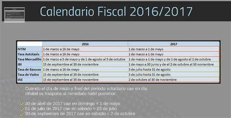 semana fiscal 2016 calendario fiscal valdemorillo 2016 2017 valdemorillo en