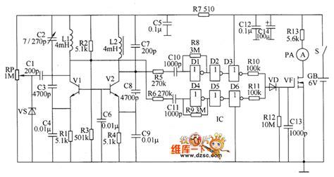 metal detector circuit diagram metal detector circuit page 4 sensors detectors circuits