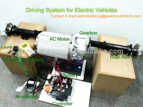 Electric Car Motor Selection Low Speed Electric Car Golf Cart Transmission Axle With