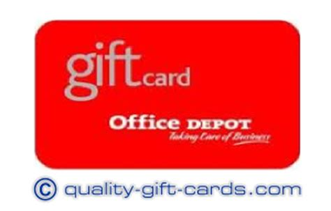 Office Depot Gift Card Balance by 100 Office Depot Gift Card 95 Quality Gift Cards