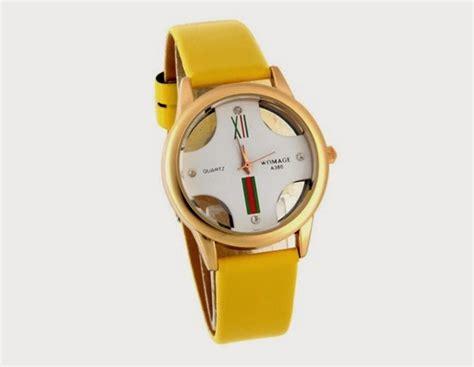 Jam Tangan Wanita Q Q Original Vr52 Kuning Biru po jam tangan womage a380 kuning rp 58 000 kado jam