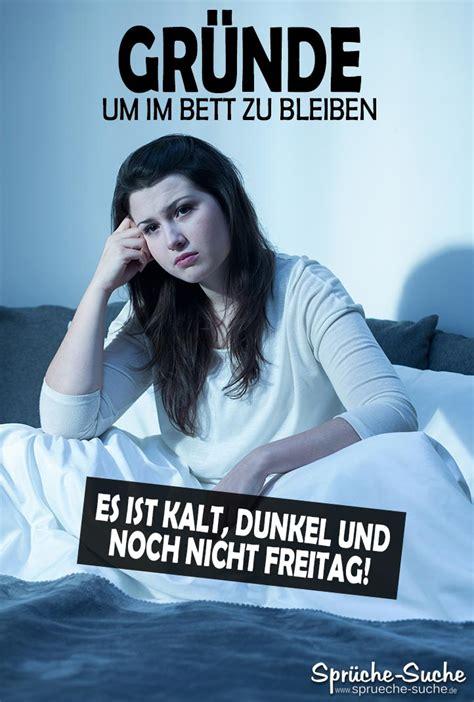 Bilder Im Bett by Im Bett Bleiben Spruch Spr 252 Che Suche