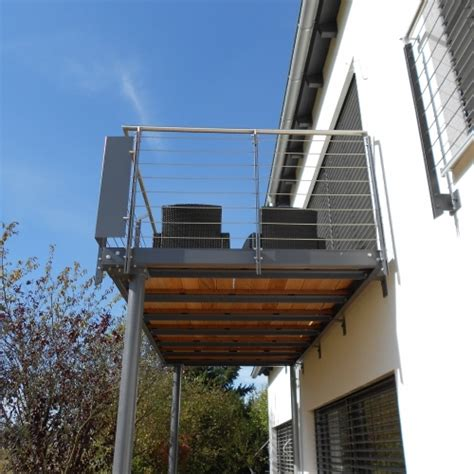 balkon edelstahlgeländer balkone