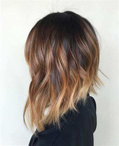 show me the back of lob haircuts best 25 long graduated bob ideas on pinterest