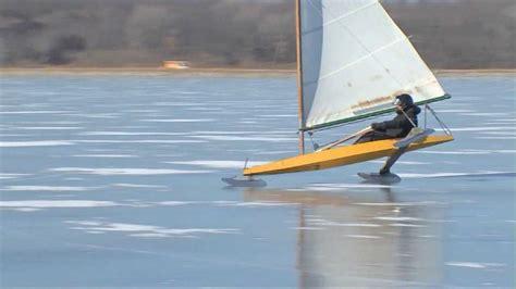 ice boat thrill seekers in iowa go ice boating wpmt fox43