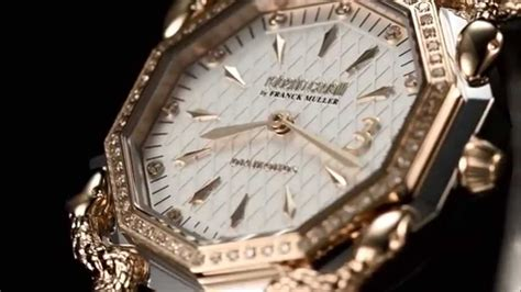Watches Exclusively At by Roberto Cavalli By Franck Muller Swiss Made Watches