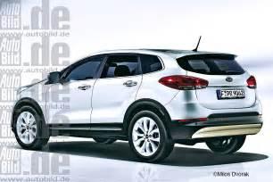 Kia De Kia Planning A Hybrid Crossover Rendering