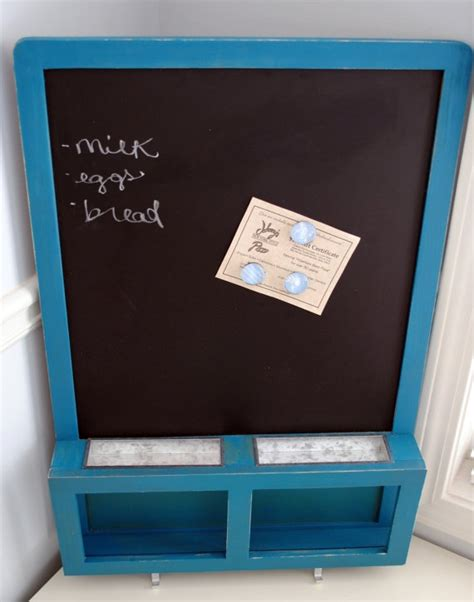 chalkboard paint magnetic chalk board with magnetic paint just lovely via etsy