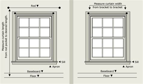 standard window size for curtains how to correctly hang rod pocket top curtains lushes