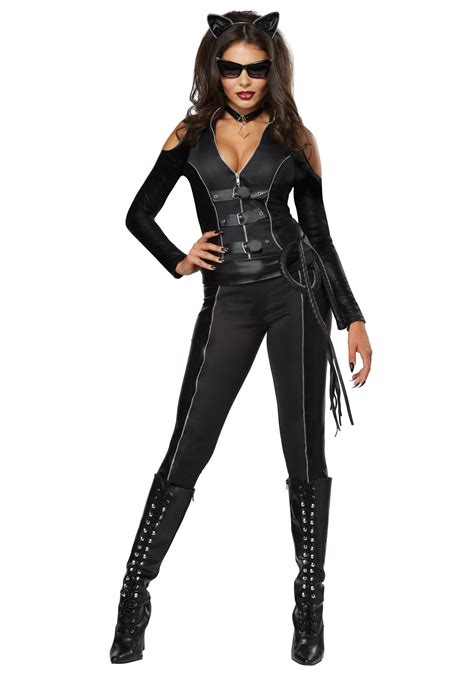 catsuits for women womens fatal feline catsuit