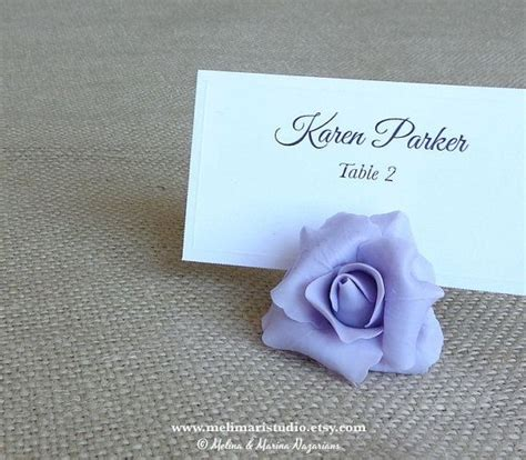 Handmade Place Card Holders - place card holders handmade cold porcelain by