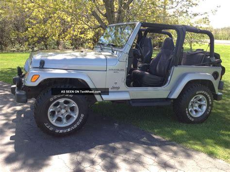 Jeep Wrangler Sport 4 Door 2001 Jeep Wrangler Sport Sport Utility 2 Door 4 0l