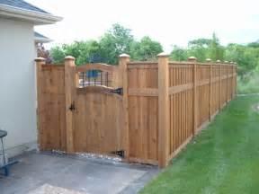best 25 cedar fence ideas on backyard fences