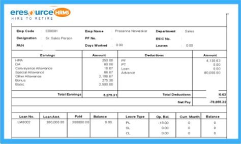 payslip template excel malaysia payslip doc sle