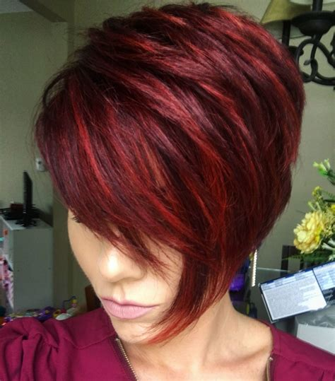 color pattern for short hair m 225 s de 1000 ideas sobre mechas con reflejos para pelo