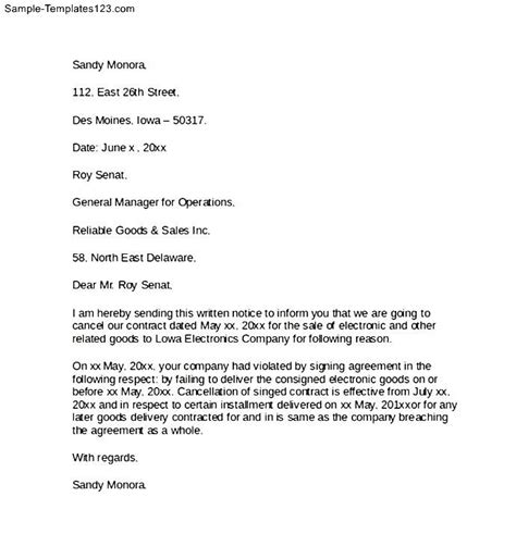 cancellation letter for gold vodacom contract cancellation letter 28 images