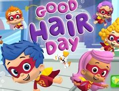 bubble guppies haircut game bubble guppies games games kids online