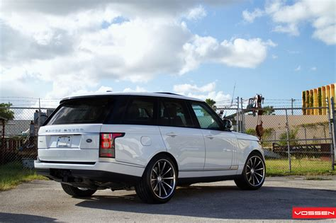 range rover custom wheels 2013 range rover gets custom vossen wheels autoevolution