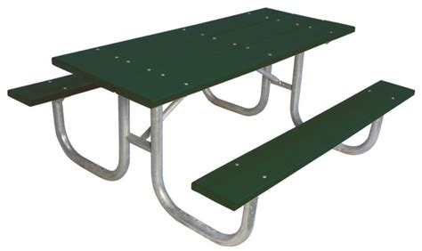 ultrasite 6 ft commercial recycled plastic table green
