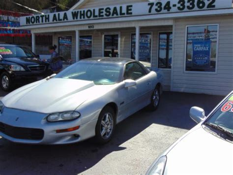 2000 chevrolet impala for sale in cullman al 2g1wf55e0y9104671 usedcarsgroup used 2000 chevrolet camaro z28 coupe for sale in cullman al 35055 north alabama wholesale autos