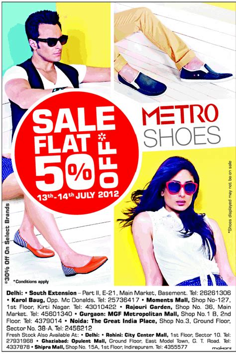 metro shoes flat 50 metro shoes flat 50 new delhi saleraja