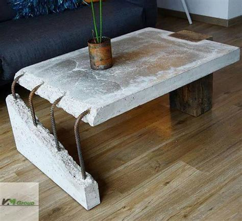 how to a concrete table concrete slab coffee table atbge