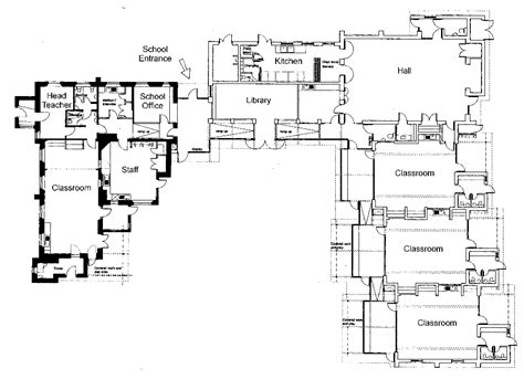 floor plans for school buildings school building plans blueprints elementary school