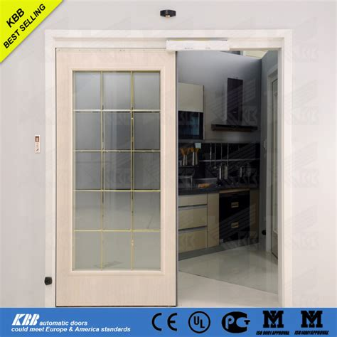 Kbb Residential Commercial Automatic Sensor Glass Sliding Residential Sliding Glass Doors