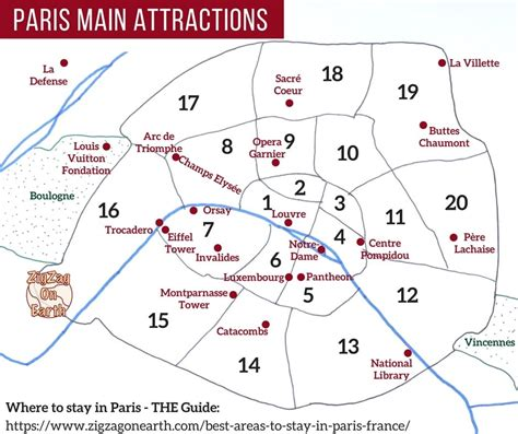 sections of paris best areas to stay in paris maps neighborhood guides