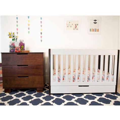 2 Tone Crib by Modern Babyletto 2 Nursery Set Mercer Two Tone 3