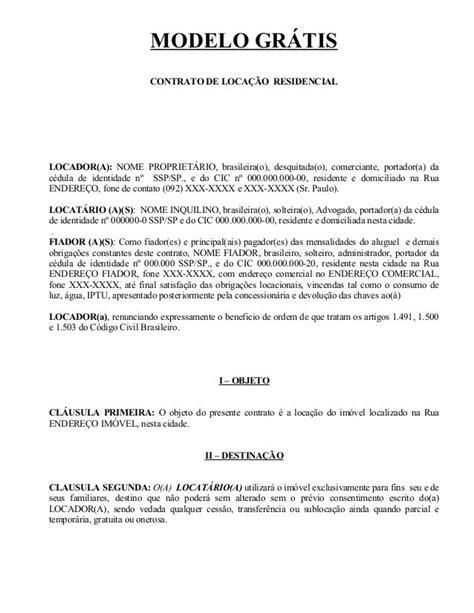 Arquivo CONTRATO DE ALUGUEL.doc enviado por Edilson. Sobre