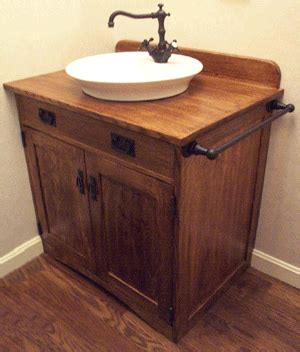 mission style bathroom vanities nhwoodworking mission styled bathroom vanity