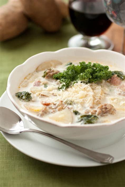 Olive Garden Toscana Soup Recipe by Zuppa Toscano Recipe Dishmaps