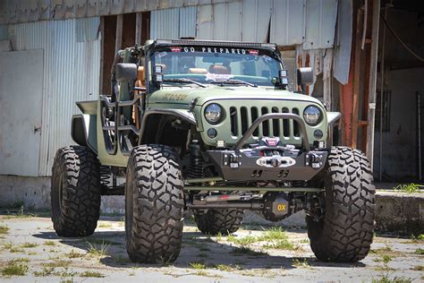 Jeep Jk Bruiser Conversions Jeep Jk Crew The Awesomer