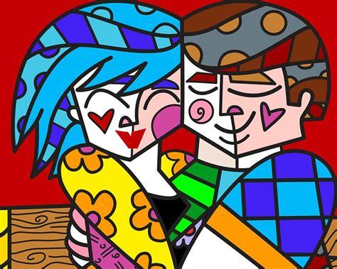 romero britto hug 2015 romero britto artmarket contemporary