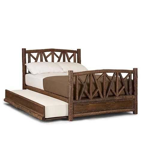 rustic trundle bed rustic trundle bed la lune collection
