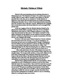 Shylock Essay by Shylock Essay Villain Or Victim