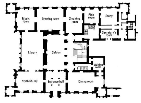 floor plan downton highclere castle floor plan the real downton the