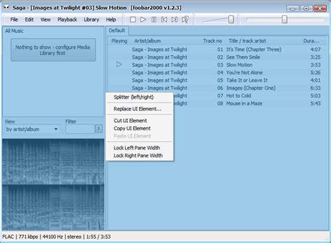 Layout Editing Mode | https www audiohq de articles foobar layout layout