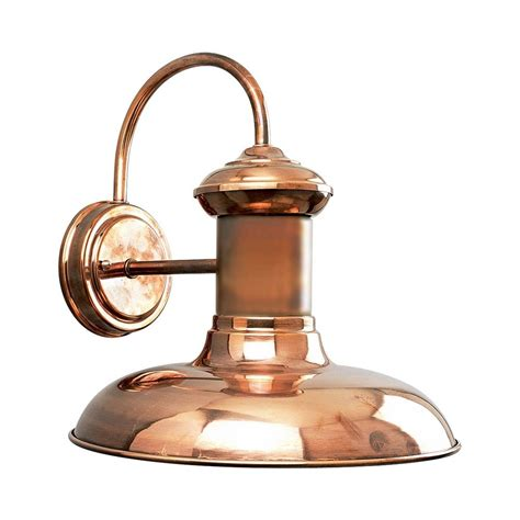 Copper Outdoor Lighting Progress Outdoor Wall Light In Copper Finish P5723 14 Destination Lighting