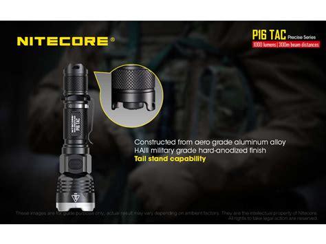 Nitecore P16 Tac Senter Tactical Led Cree Xm L2 U3 1000 Lumens nitecore p16 tac tactical led flashlight