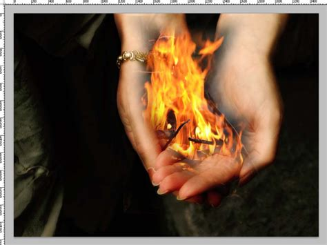 how to light your hand on fire putting fire in your hands with photoshop tipsquirrel