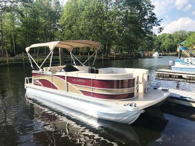 lexington pontoons lexington 21 foot cruising pontoon