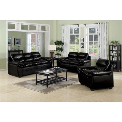 Living Rooms With Black Sofas 27 Best Images About Living Room Leather Furniture On