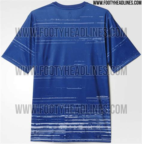 Real Madrid Bs Blue White Bendera real madrid 16 17 pre match shirt leaked footy headlines