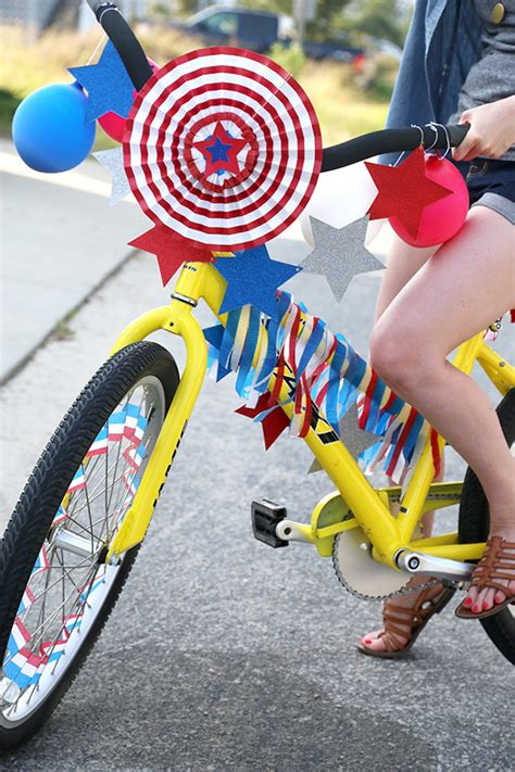 Decorate Your Bike by Fourth Of July Decorated Bikes Say Yes